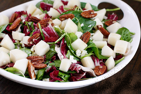 Salad with Pears and Gorgonzola | Karma Clinic