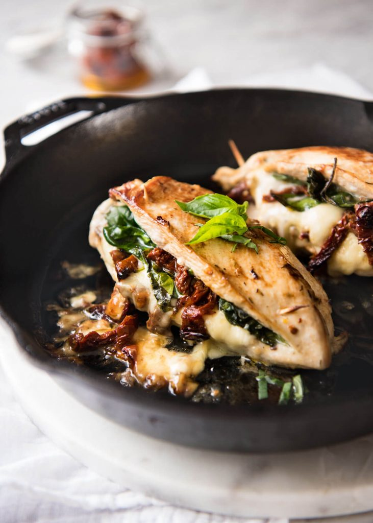 Sun Dried Tomato Spinach Amp Cheese Stuffed Chicken Breast Karma Clinickarma Clinic